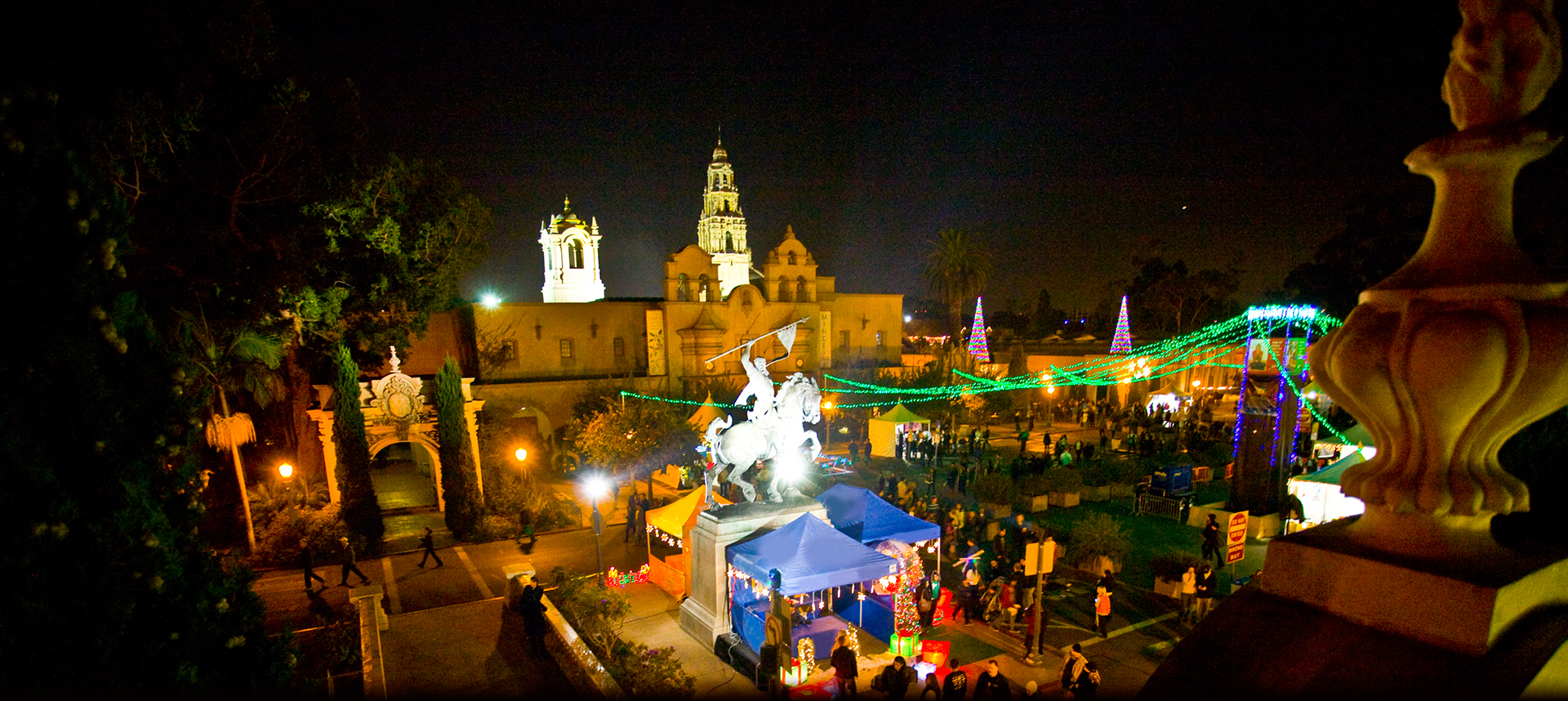 40th Annual December Nights at Balboa Park